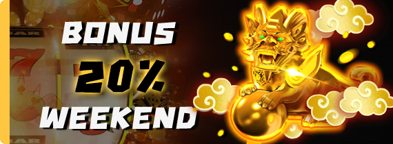 ​WEEKEND BONUS 20% - TO x20