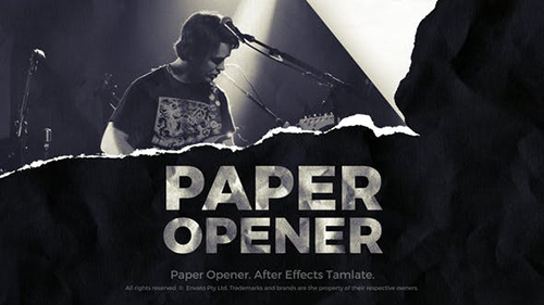 Paper Opener - Paper Slideshow 33805164 - Project for After Effects (Videohive)