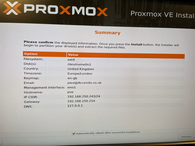 Proxmox-Dell-PCIe-NVME-Install