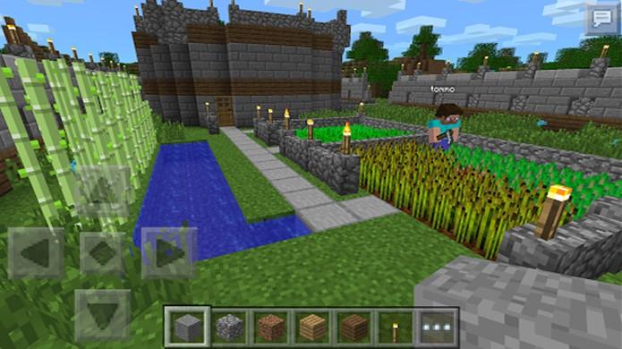 Así luce Minecraft Pocket Edition para Android.