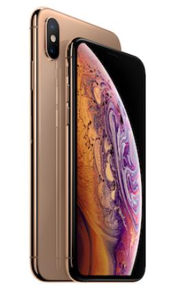 Смартфоны iPhone X и XS