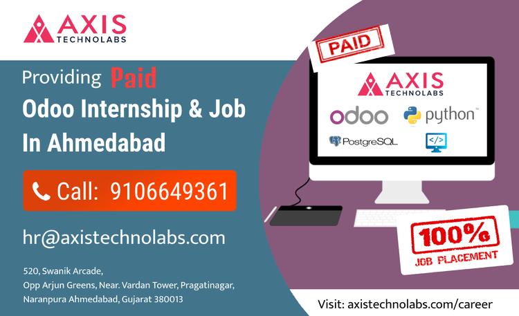 paid odoo internship training