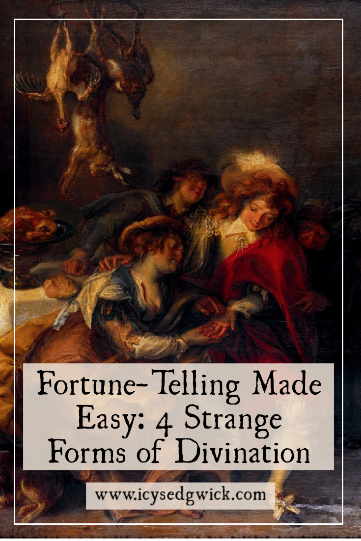 People often turn to fortune-telling for comfort in times of crisis. Click here to learn about augury, phrenology, tasseography, and many more.