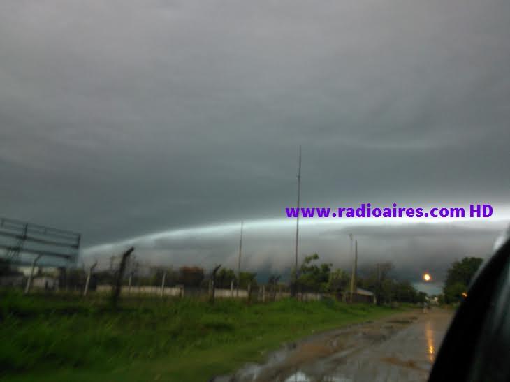 S.M.N: Alerta amarilla por tormentas y descenso de temperatura para Entre Ríos