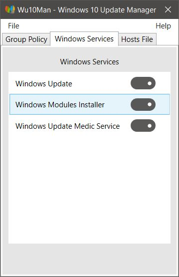 Wu10Man - Windows 10 Update Manager 2 0 0 + Portable
