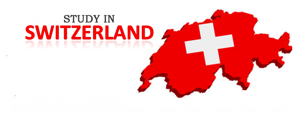 study in switzerland with map