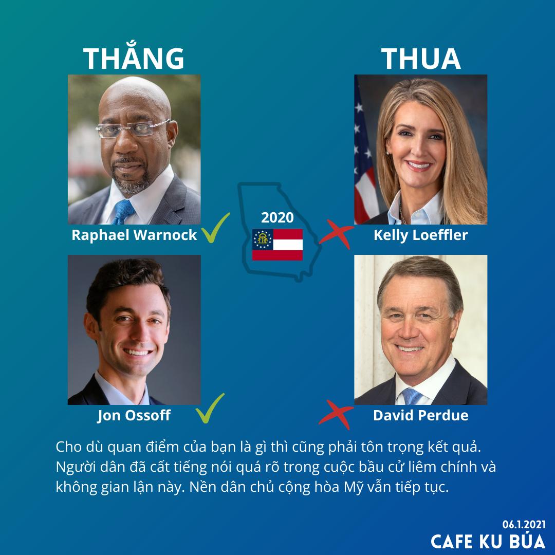 BẦU CỬ THƯỢNG VIỆN GEORGIA 2020