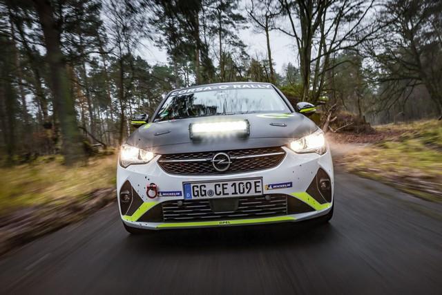 Le calendrier de l'ADAC Opel e-Rally Cup est fixé Opel-Corsa-e-Rally-513852