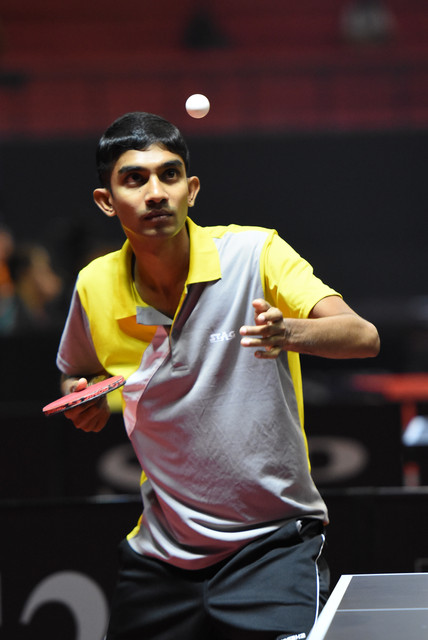Chameera Ginige to Lead the Sri Lankan Team to World Table Tennis Championship