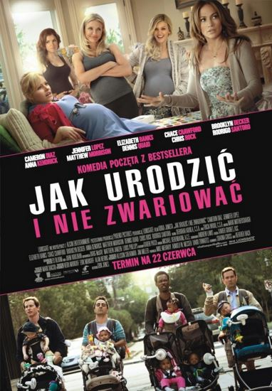 Jak urodzić i nie zwariować / What to Expect When You're Expecting (2012) PL.BRRip.XviD-GR4PE | Lektor PL