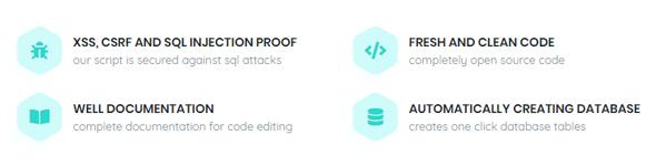 CodeIgniter Script Installer Features