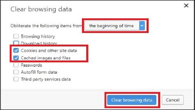 Clear Cache History Browser HP Begini Caranya