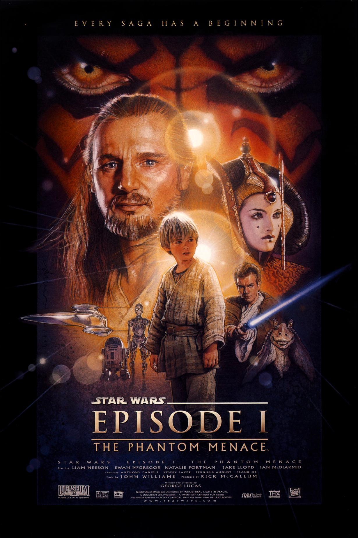 ვარკვლავური ომები ეპიზოდი I STAR WARS: EPISODE I - THE PHANTOM MENACE