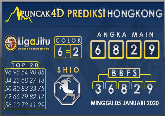 PREDIKSI TOGEL HONGKONG PUNCAK4D 05 JANUARI 2020