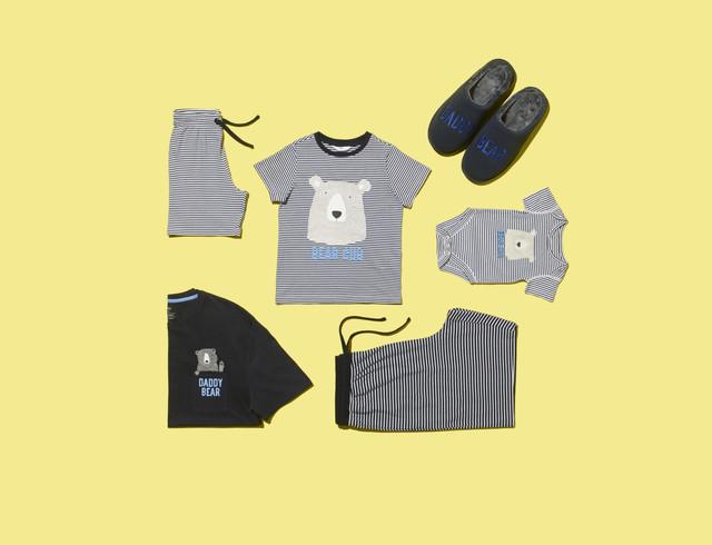 Pure-Cotton-Daddy-Bear-Print-Pyjama-Set