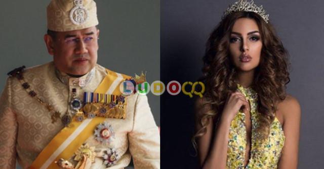 Pertengkaran Antara Mantan Raja Malaysia dan Ratu Kecantikan Rusia