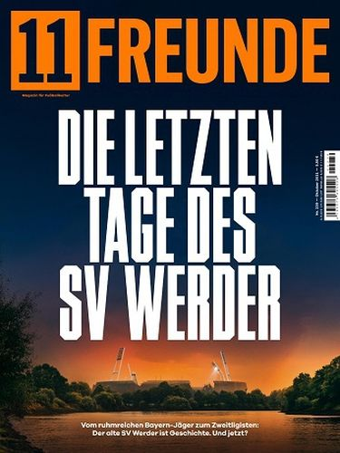 Cover: 11 Freunde Magazin für Fußball-Kultur No 239 Oktober 2021
