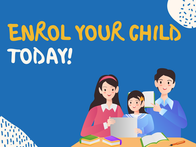 Enrol-Your-Child-Today