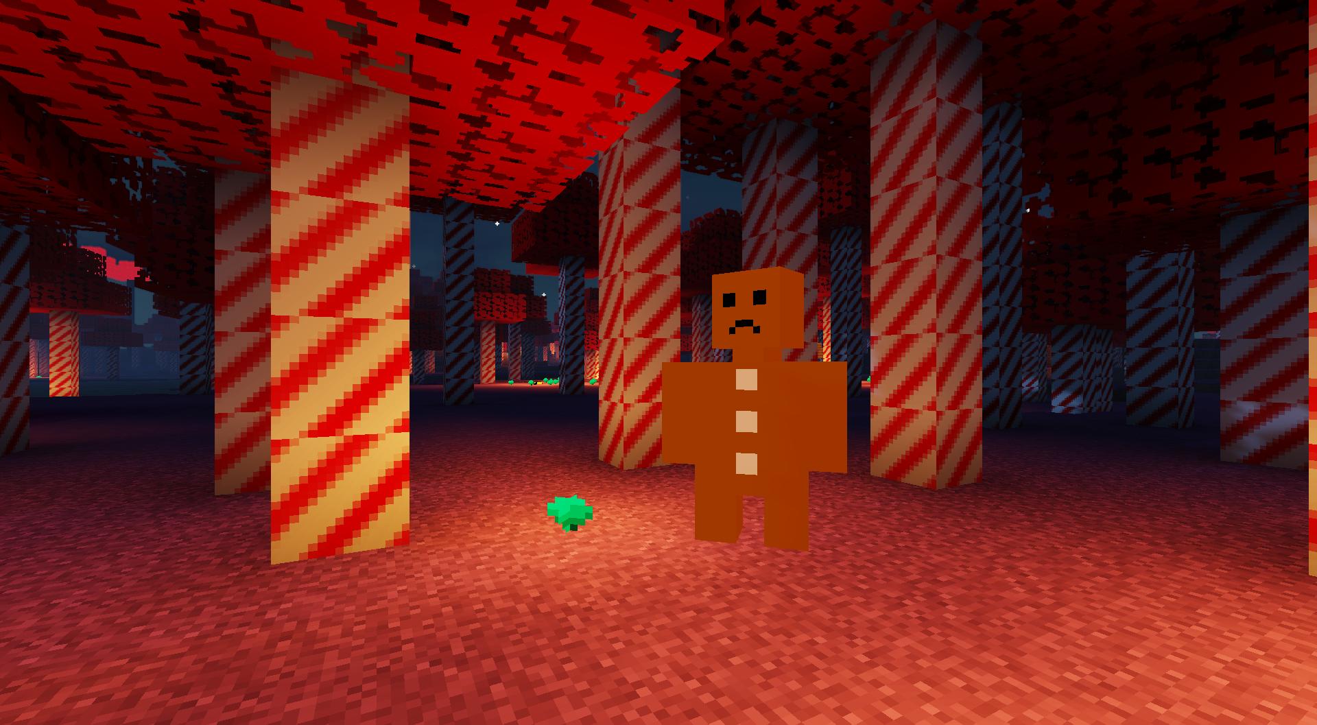 The Gingerbread Man Boss