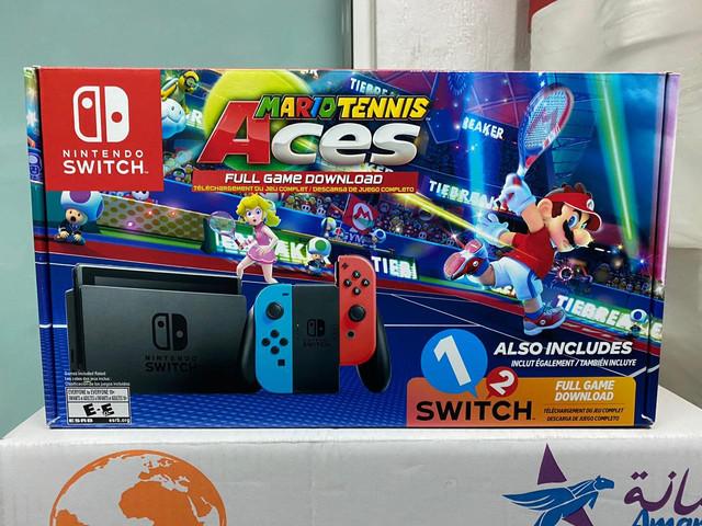 Les différents pack Switch Mario-Tennis