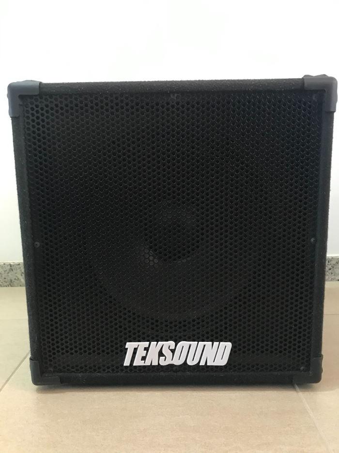 Rifa para ajudar o Aurélio (Boss2K) - Caixa 1x15 Teksound nunca usada Tek1