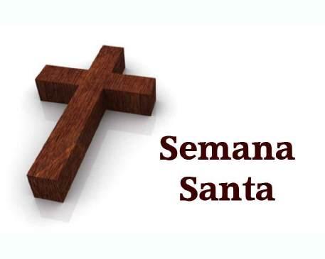 Locales: Iglesia Católica: Actividades Semana Santa
