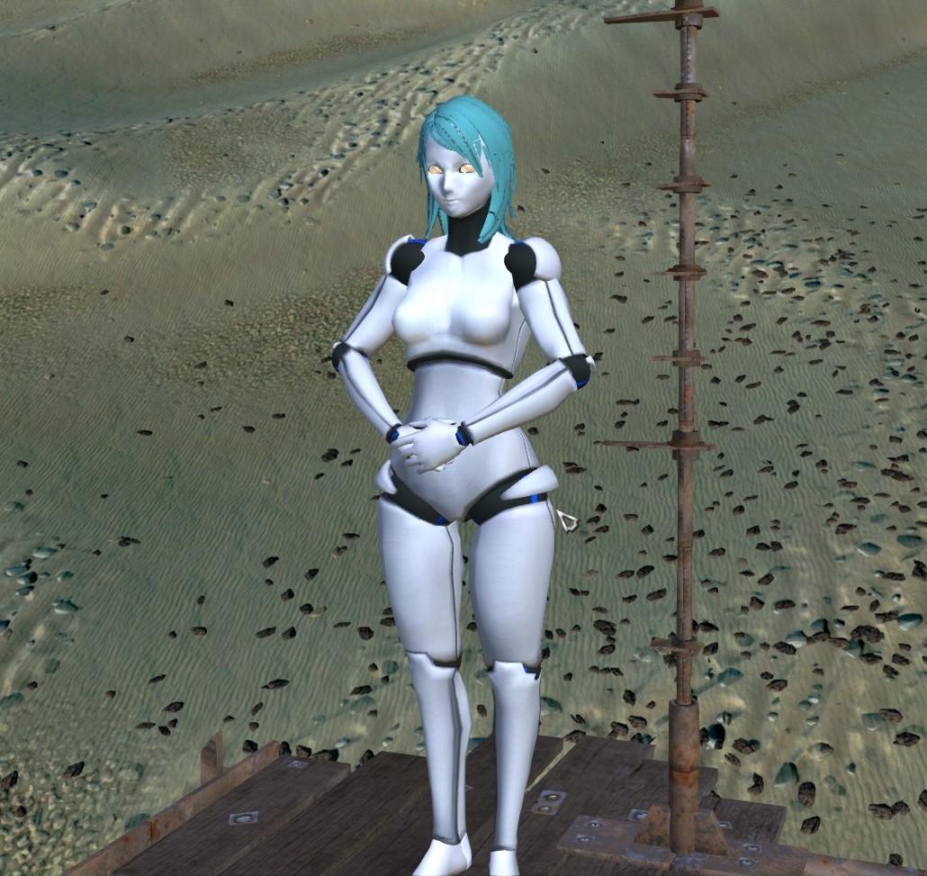 Female Android / Девушка Андроид (EN/RU)