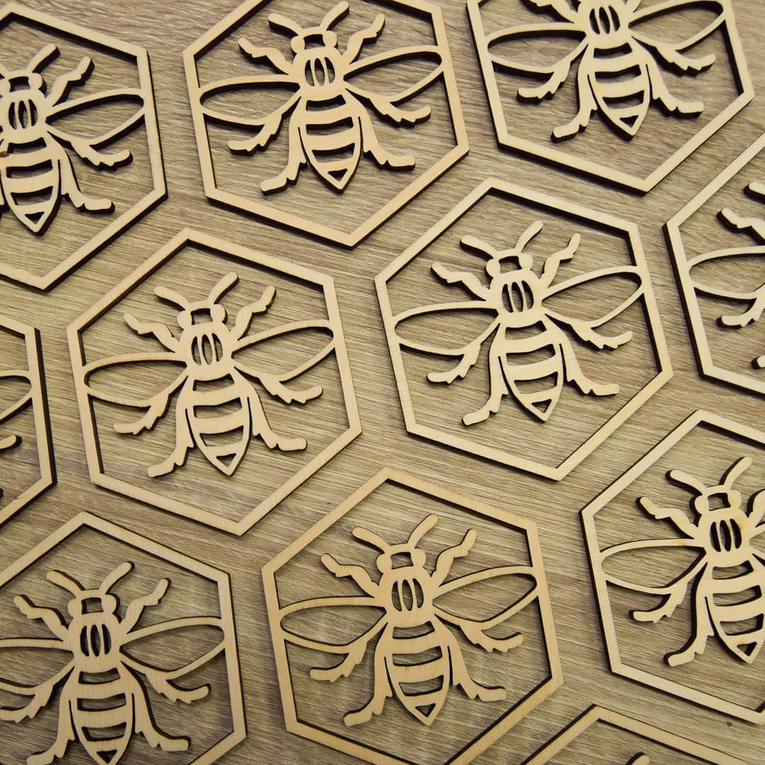 Bee Coasters | The Manchester Shop