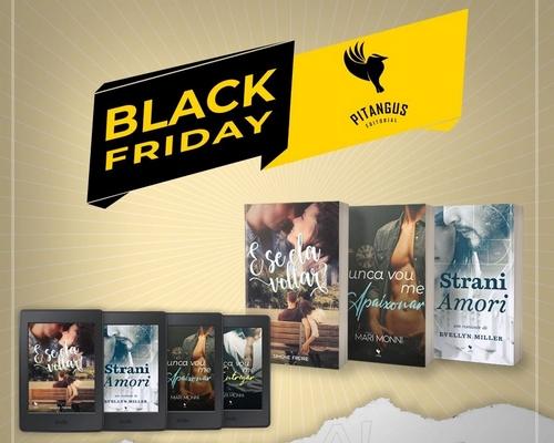 Aproveite as promoções de Black Friday da #PitangusEditorial