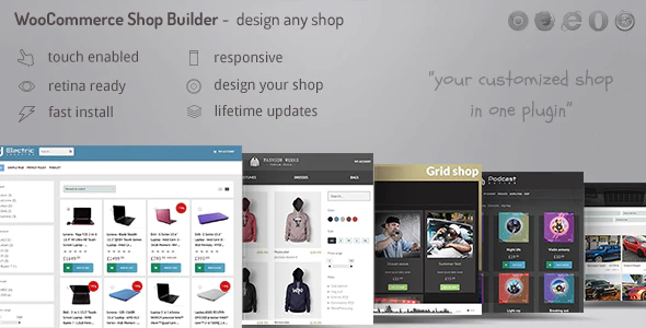 CodeCanyon - WooCommerce shop page builder v1.30 - Create any shop grid / table with advanced filters - 22003147