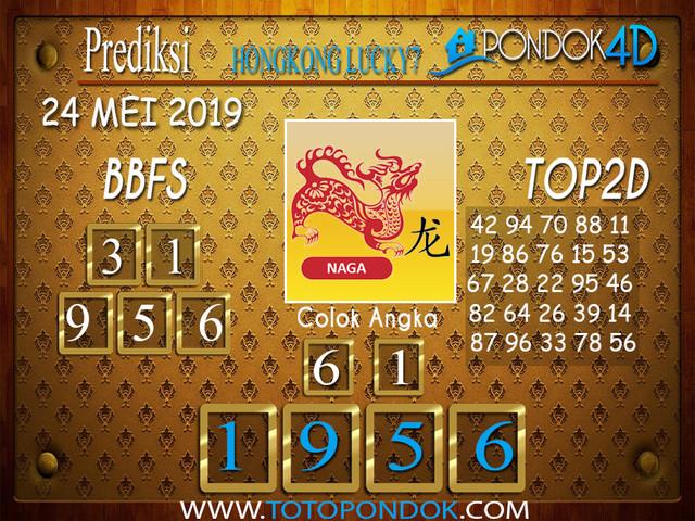Prediksi Togel HONGKONG LUCKY 7 PONDOK4D 24 MEI 2019