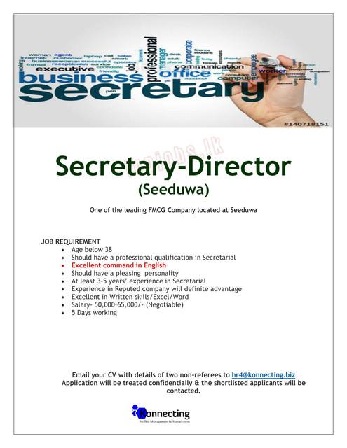 4276c-Secretary-Seeduwao1