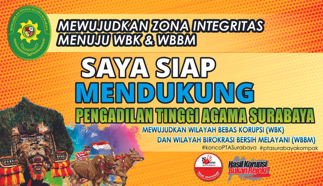 Siap Mendukung PTA Surabaya Dalam WBK dan WBBM