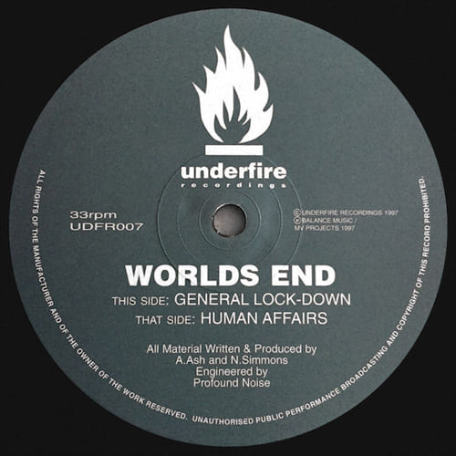 Worlds End - General Lock Down / Human Affairs
