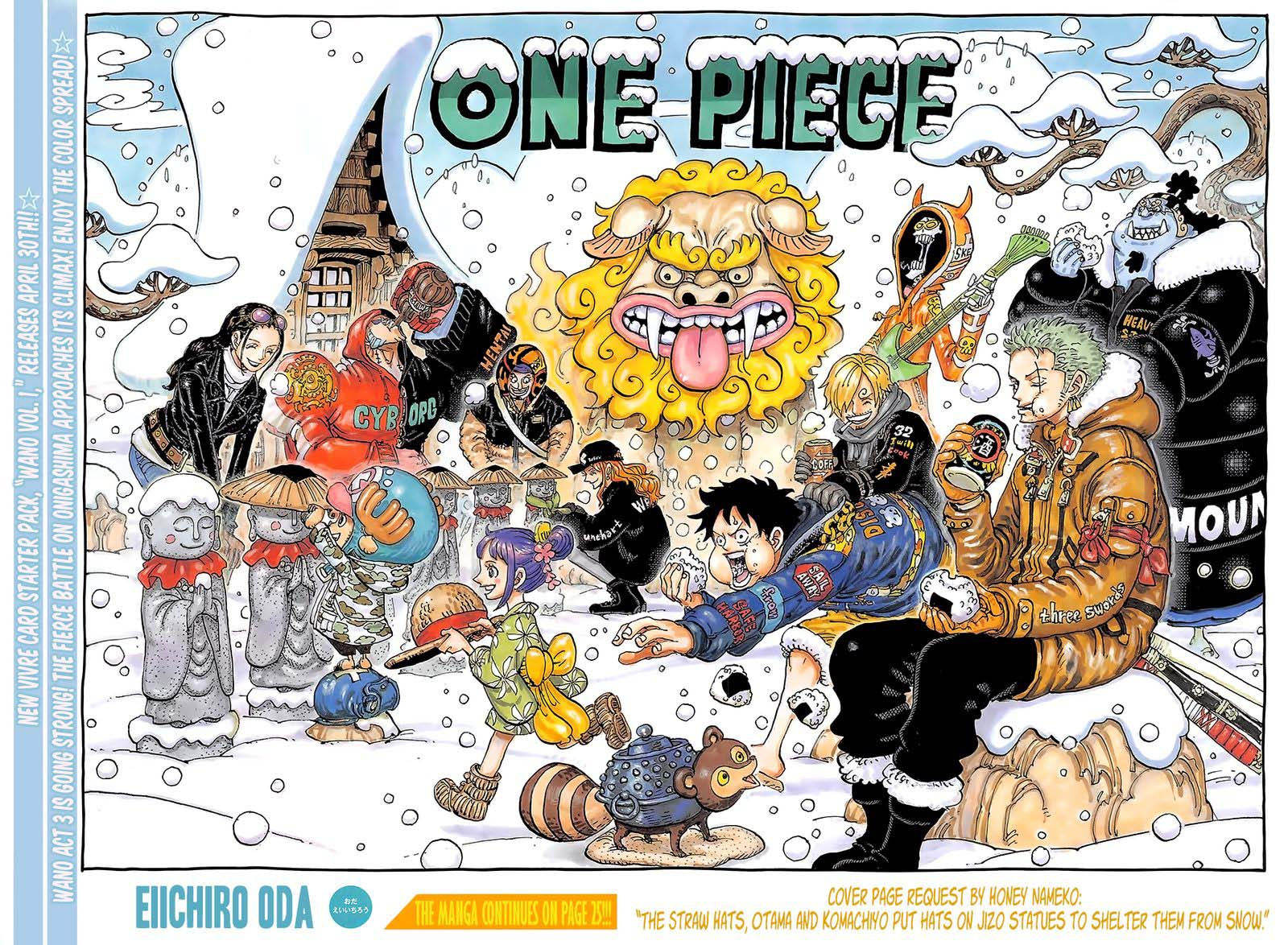 One Piece Chapter 1009 - IMG 002