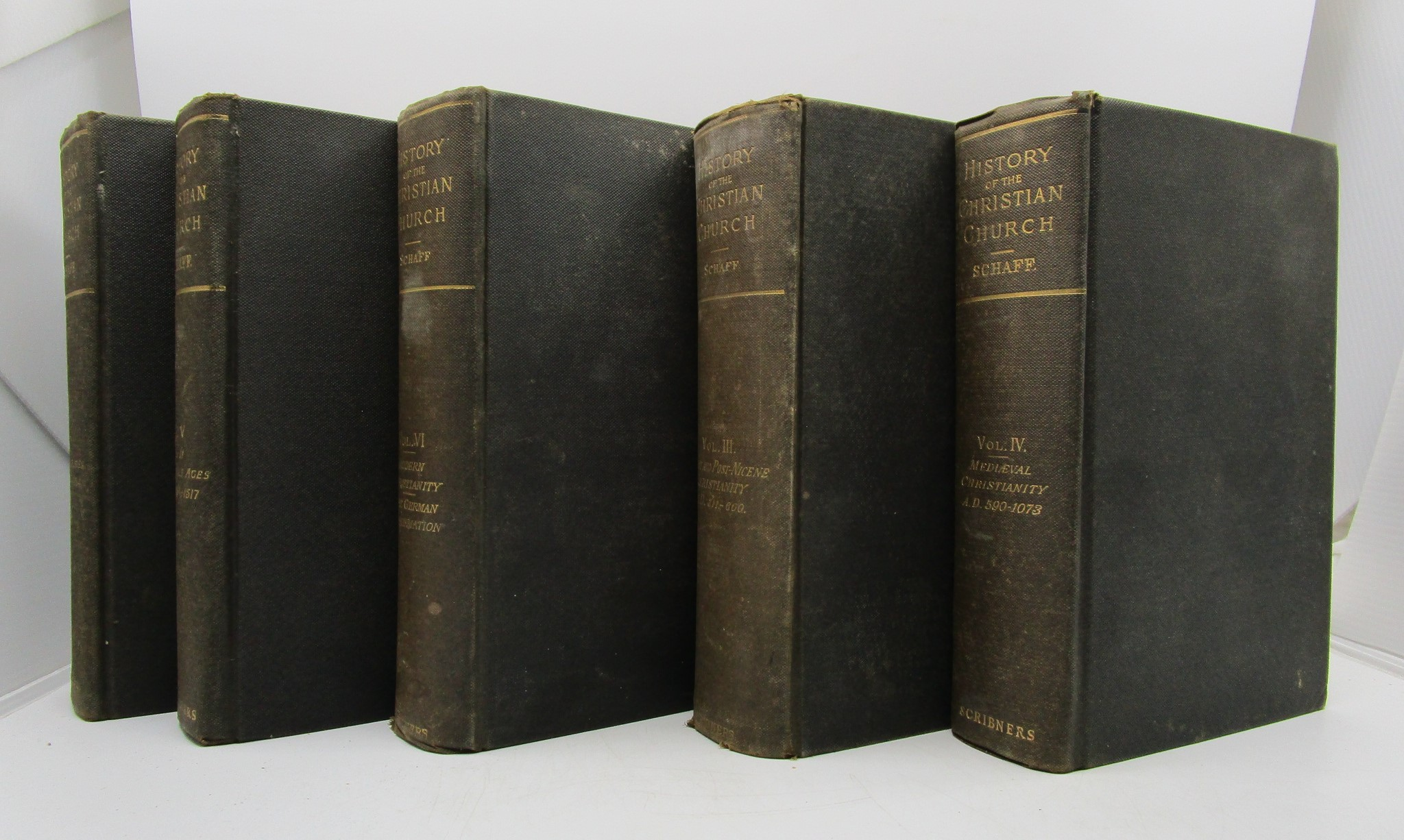 Image for History of the Christian Church (3-6 Volumes Only) From the Library of Morton H Smith