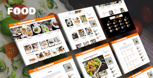 ThemeForest - Tasty Food v2.3 - Recipes Blog WordPress Theme - 19331908