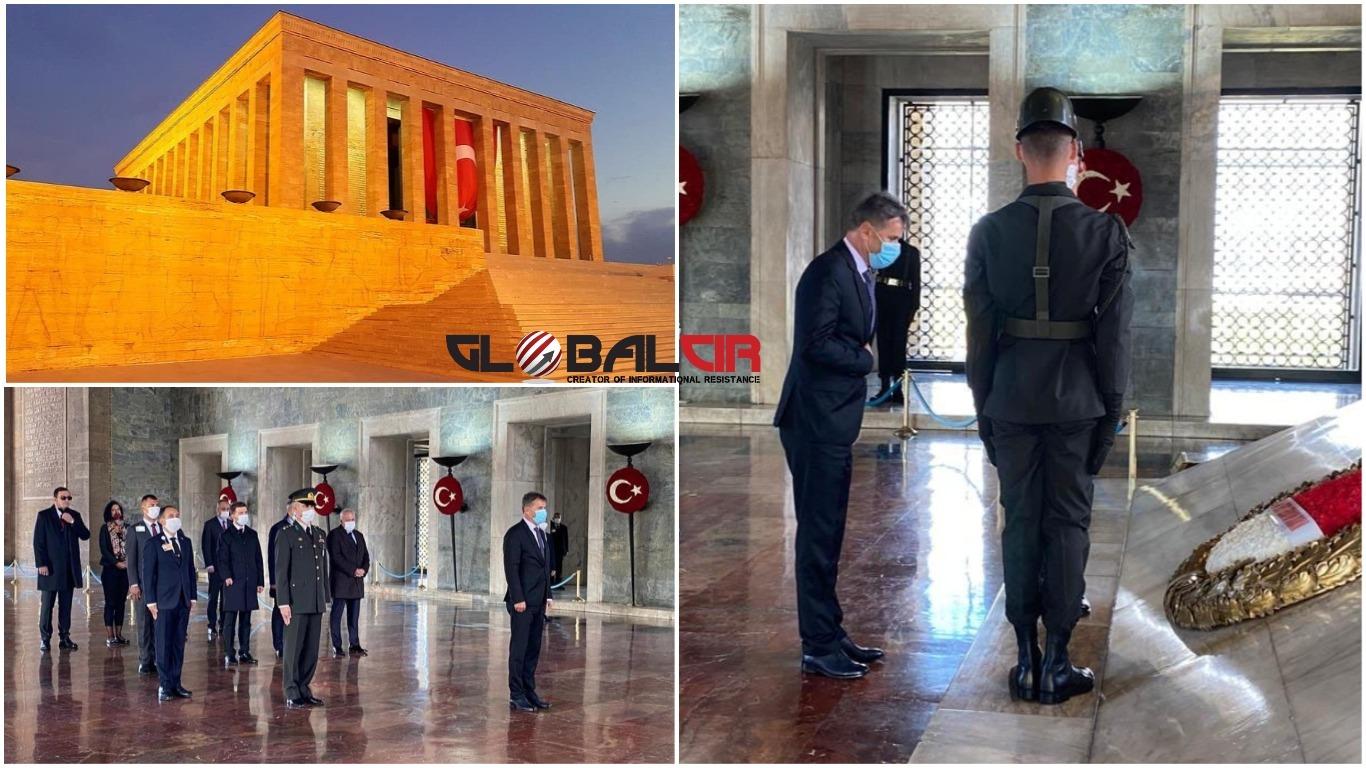 ODAO POČAST OSNIVAČU REPUBLIKE TURSKE: Novalić posjetio Ataturkov mauzolej u Ankari
