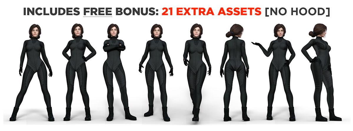 f cyberpunk hacker hood bonus graphic