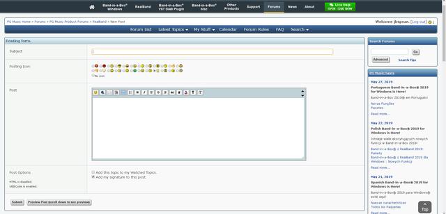 forum-screen