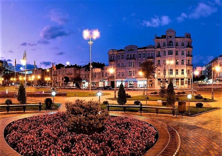Районы города Винница