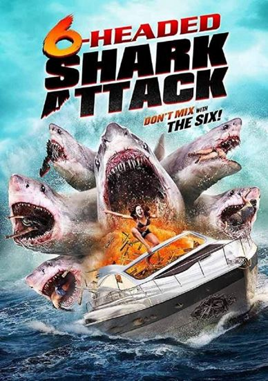 Sześciogłowy rekin atakuje / 6-Headed Shark Attack (2018) PL.BRRip.XviD-K83 | Lektor PL