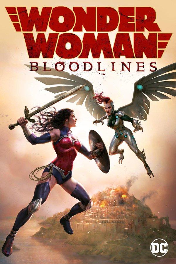 """2019 美国《神奇女侠:血脉》该部电影是2009年以来的第二部""""神奇女侠""""动画电影"""