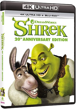 Shrek (2001) .mkv UHD Bluray Untouched 2160p AC3 iTA DTS-HD ENG HDR HEVC - DDN
