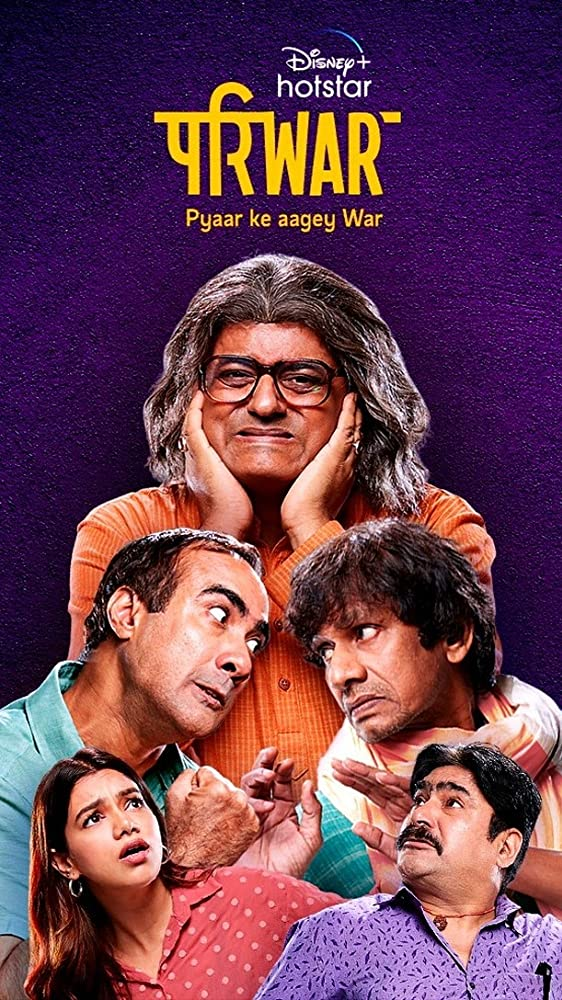 Pariwar S01 2020 Hindi Complete DSNP Web Series 720p HDRip 950MB | 450MB Download