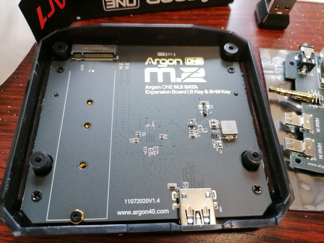 bottom part were the m.2 ssd will be