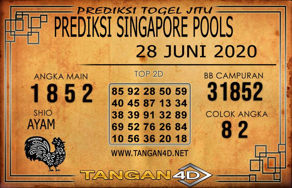 PREDIKSI TOGEL SINGAPORE TANGAN4D 28 JUNI 2020