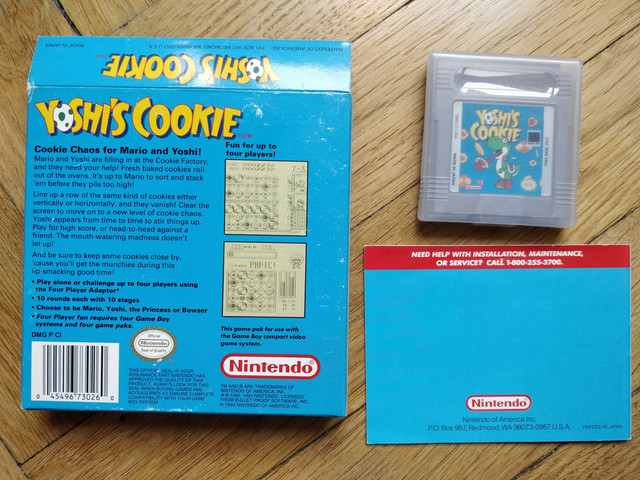 Yoshi's Cookie 2