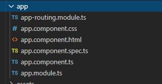 default angular naming conventiones