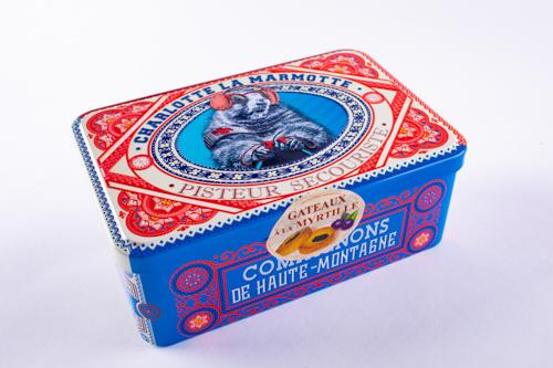 Mini prajituri cu umplutura de coacaze Marmotte 300g